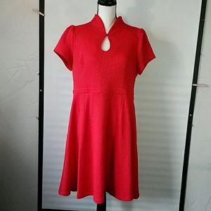 Modcloth red dress